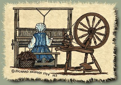 162Pp Spinnig Wheel Loom