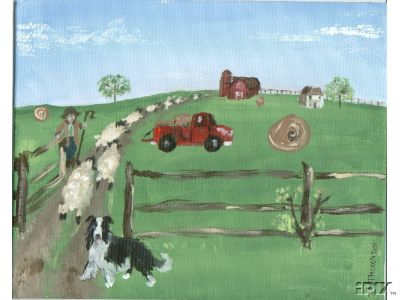 BC Herding Sheep Folk
