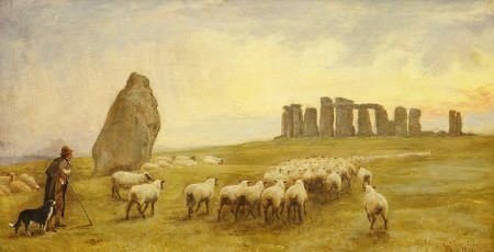 Edgar Barclay Stonehenge Sheep