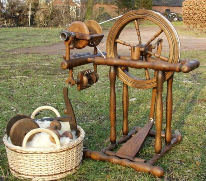 Gelders 2 in 1 Spinning Wheel