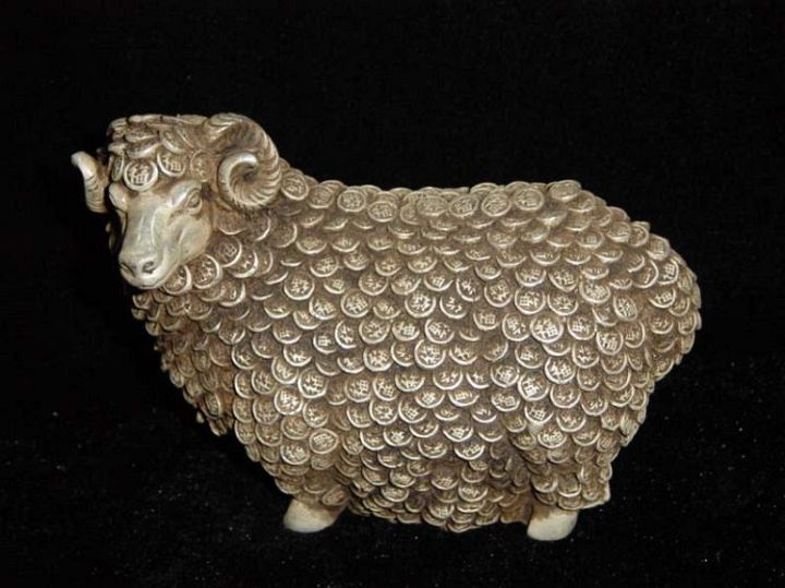 Lovely Chineese Money Sheep