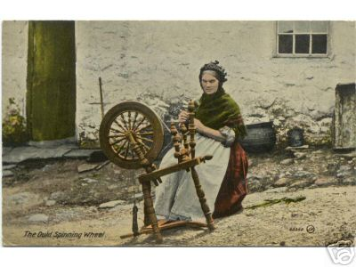 Ould Spinning Wheel