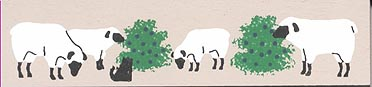 Sheep Bookmark