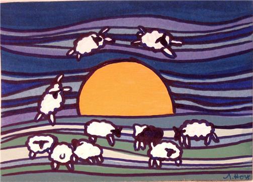 Sheep Jump Over the Sun