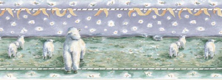 sheep wallpaper. Sheep Wallpaper Border