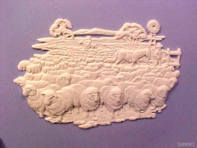 Wedgewood Sheep Plate