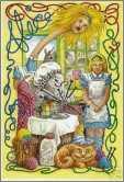 Alice Cheshire Cat and Knitting Sheep
