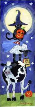 Cat Sheep Cow Halloween